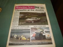 MOTORING NEWS 1990 August 1 German GP,F3000, Ulster Rally, Argentina Rally,